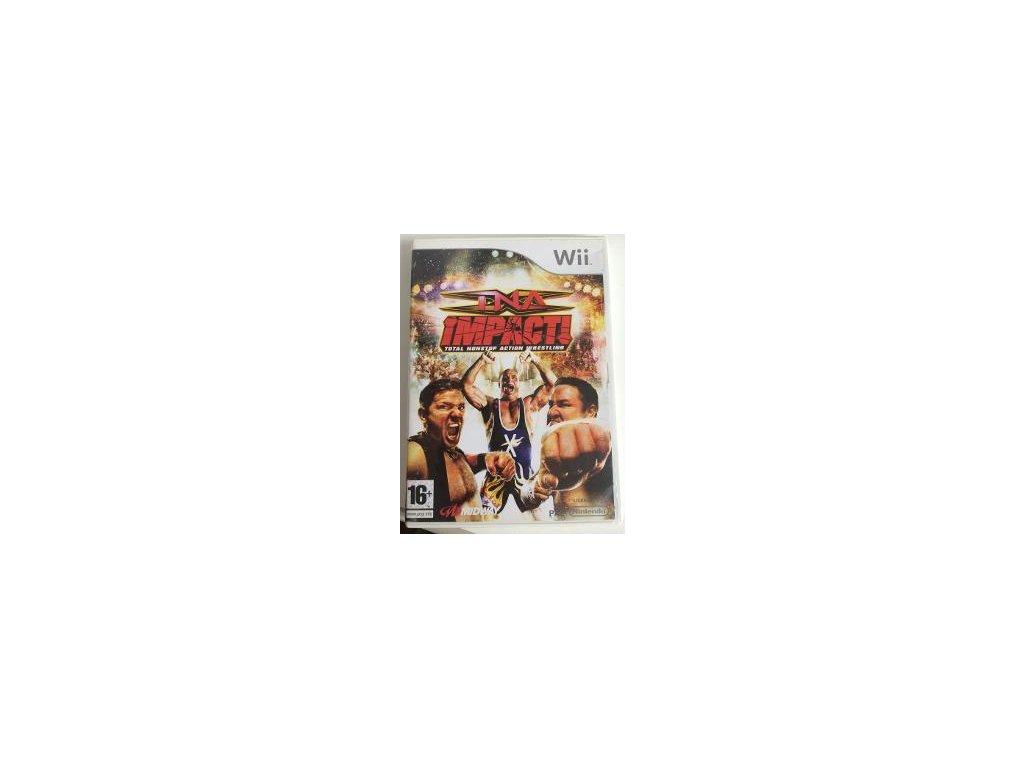 Wii TNA iMPACT! Total Nonstop Action Wrestling