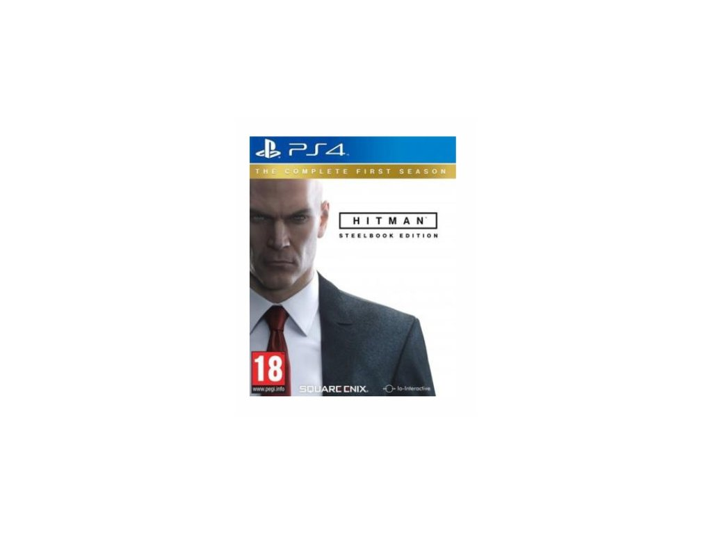 PS4 Hitman The Complete First Season Steelbook Edition