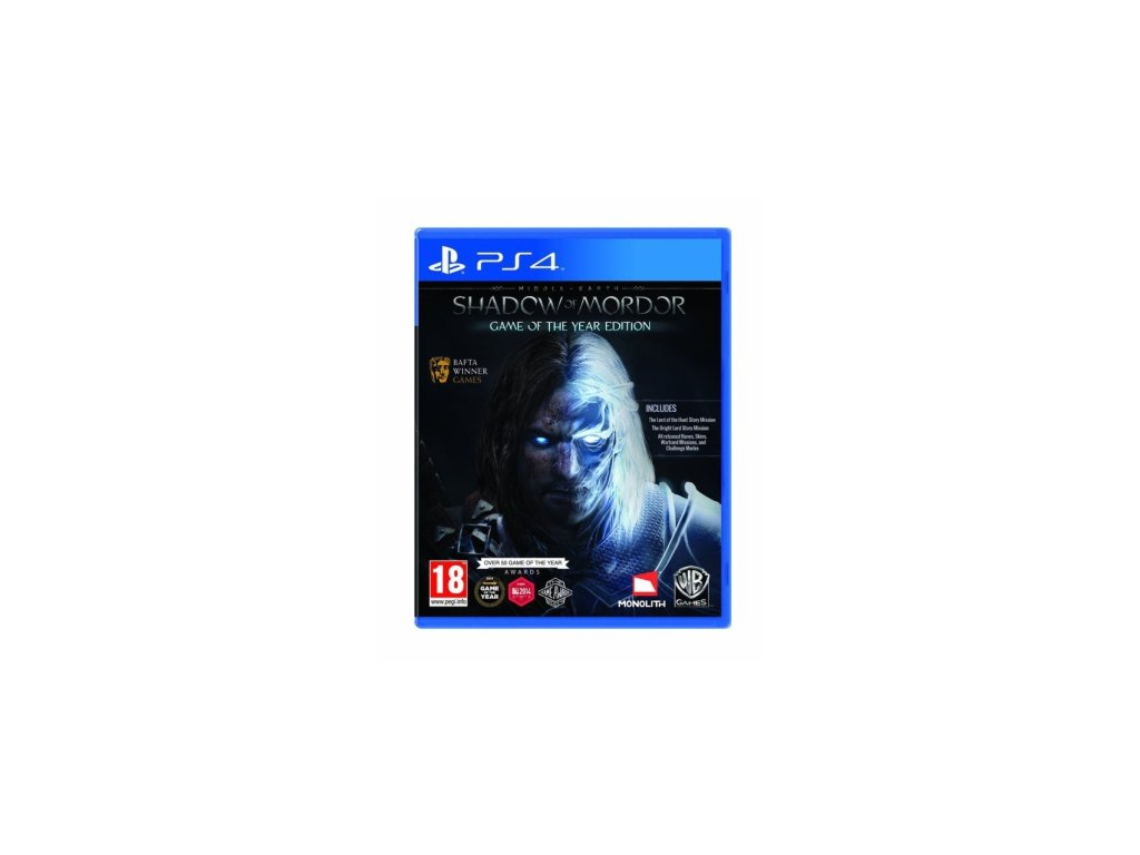 PS4 Middle Earth Shadow of Mordor Game of the Year Edition