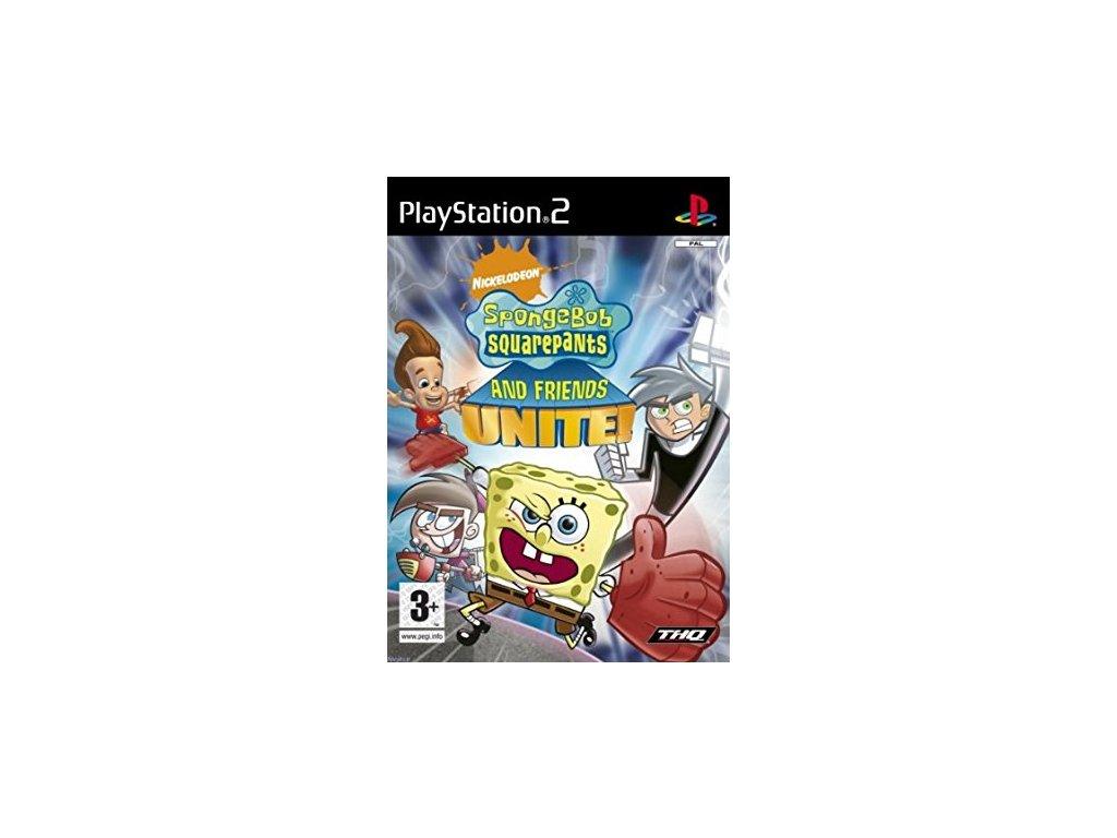 PS2 SPONGEBOB SQUAREPANTS AND FRIENDS UNITE