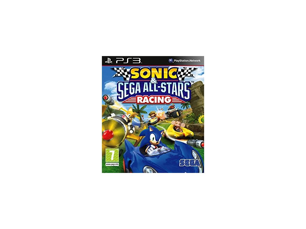 PS3 Sonic & SEGA All-Stars Racing