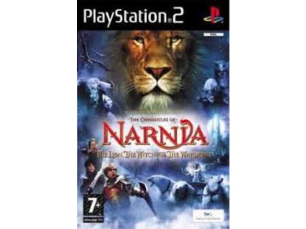 PS2 Letopisy Narnie Lev, čarodějnice a skříň