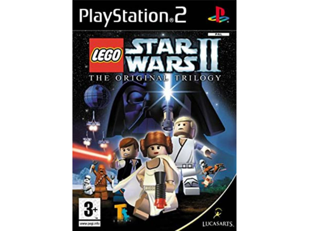 PS2 Lego Star Wars 2 original trilogy PS2