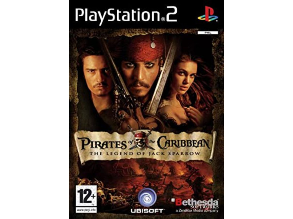 PS2 Pirates of Caribbean Legend of Jack Sparrow