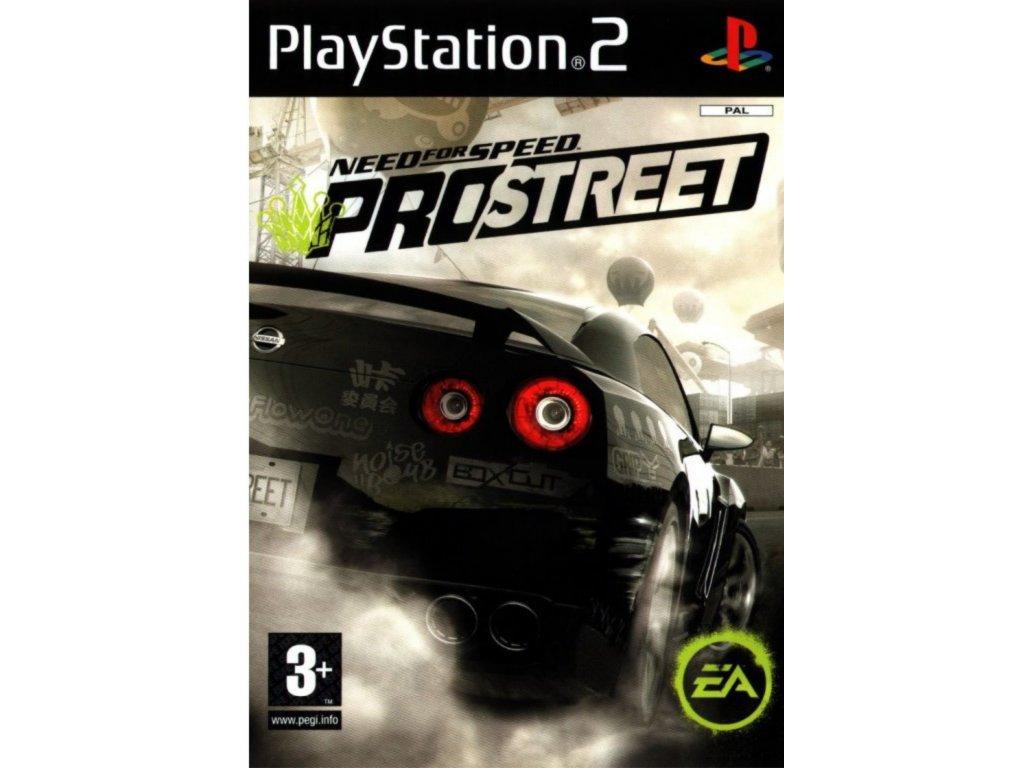 PS2 Need Speed ProStreet