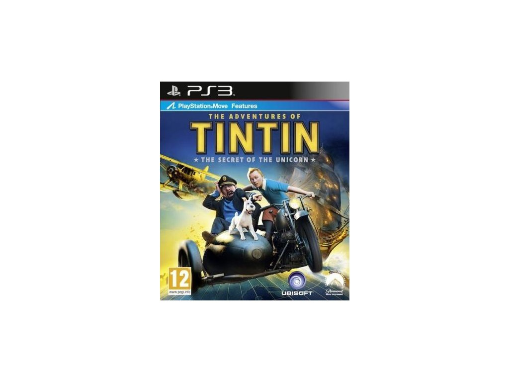 PS3 The Adventures Of Tintin: The Secret Of The Unicorn