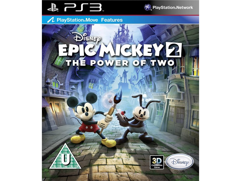 PS3 Epic Mickey The Power of Two