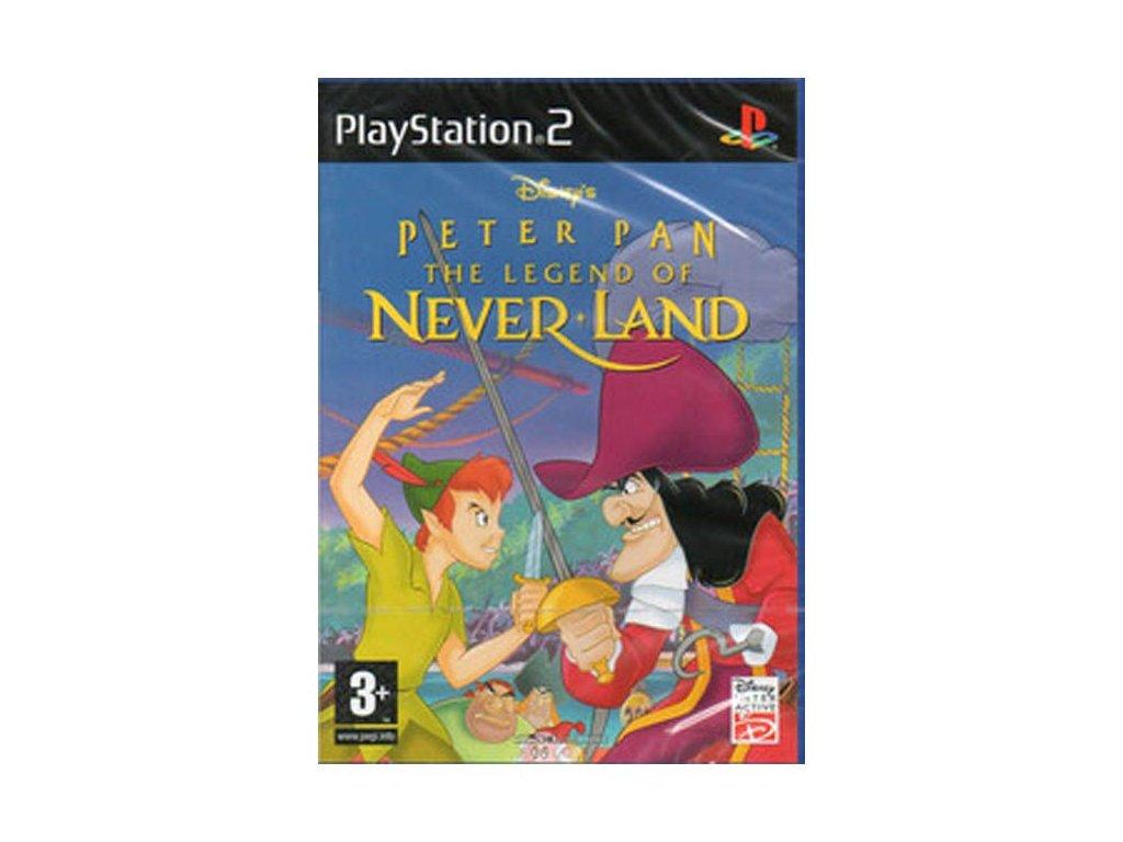 PS2 Disney's Peter Pan - Legend of Neverland