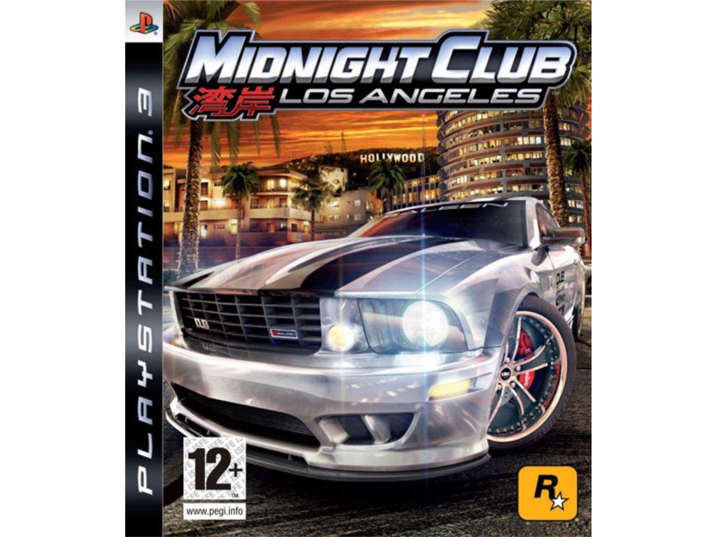 PS3 Midnight Club Los Angeles