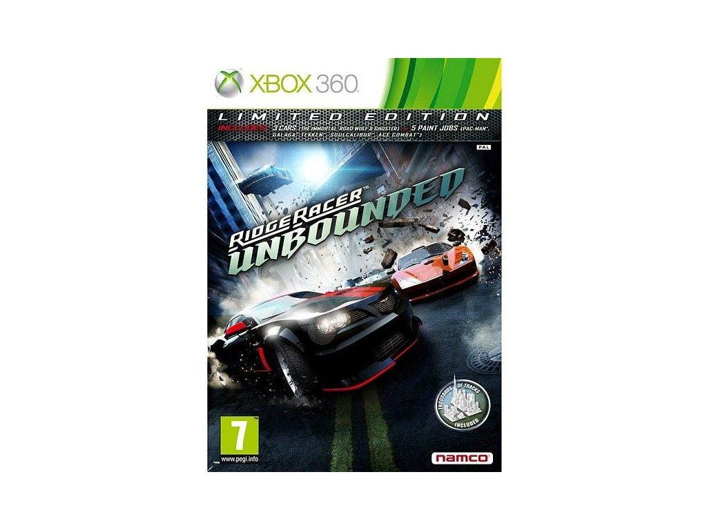 XBOX 360 Ridge Racer Unbounded