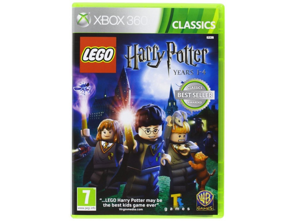 XBOX 360 LEGO Harry Potter Years 1 4 classics
