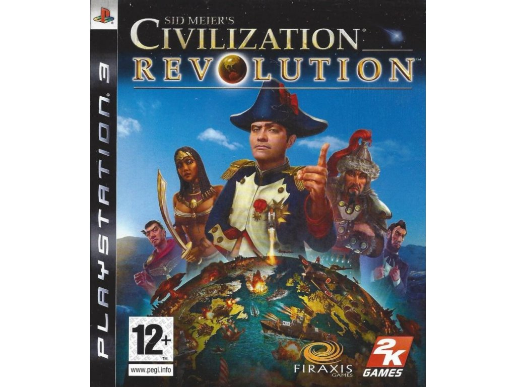 PS3 Sid Meier's Civilization: Revolution