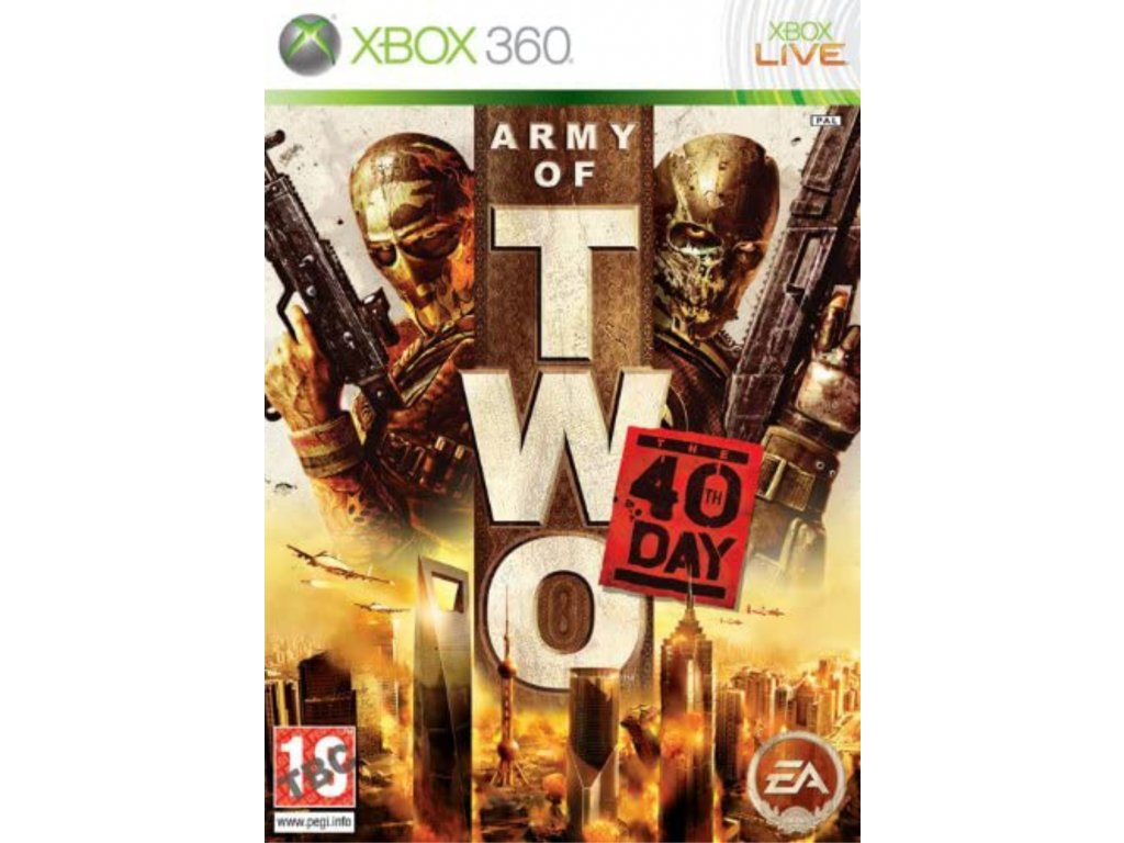 XBOX 360 Army of Two The 40th Day