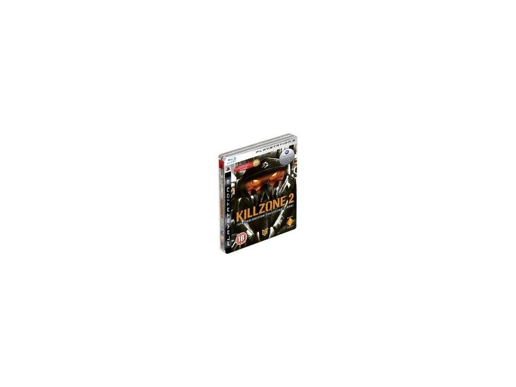 Ps3 killzone 2 limited steel tin edition / gamershouse. Cz.
