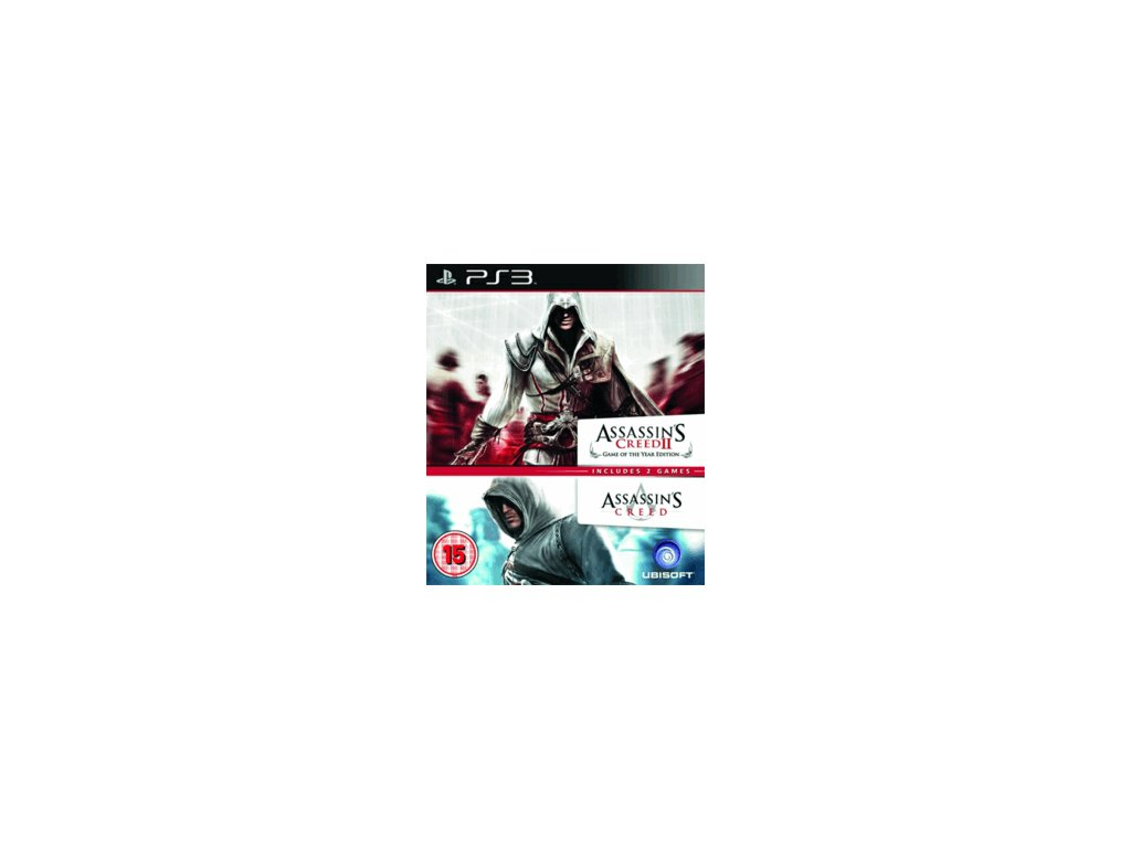 PS3 Assassins Creed I & II GOTY Double Pack