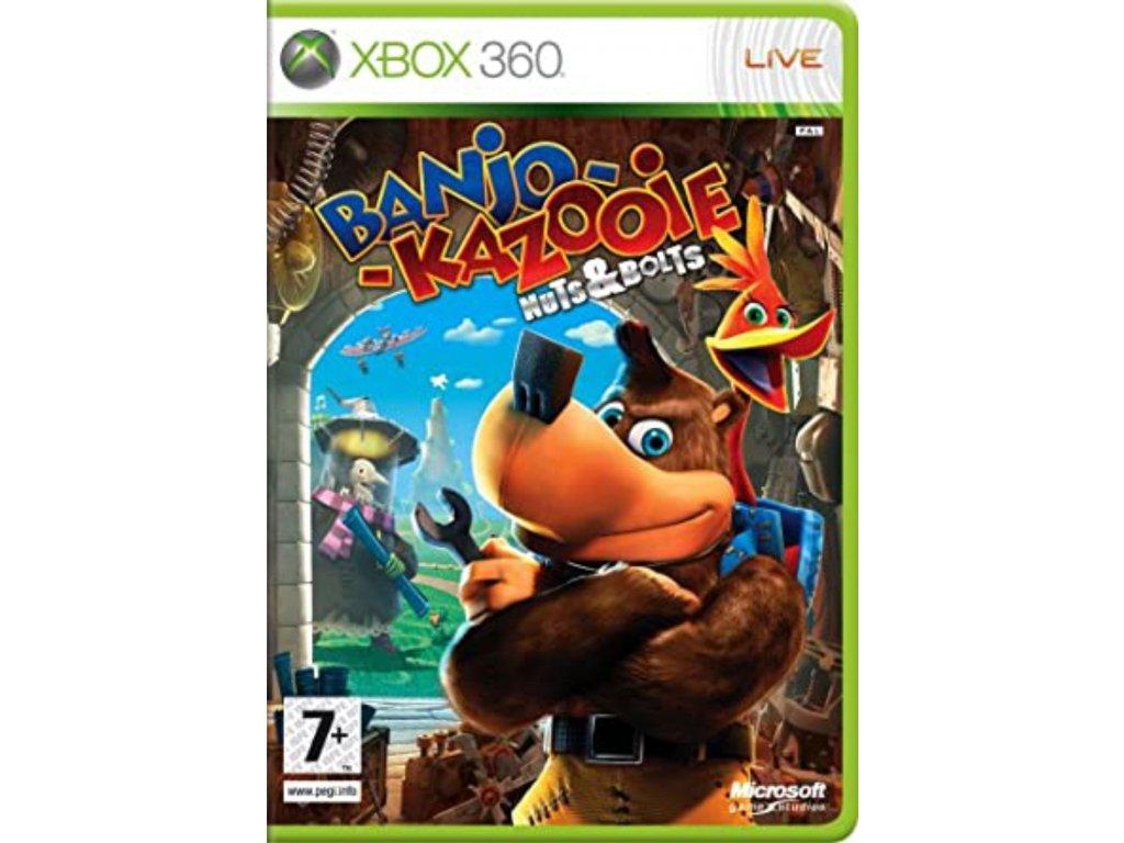 XBOX 360 Banjo Kazooie Nuts & Bolts