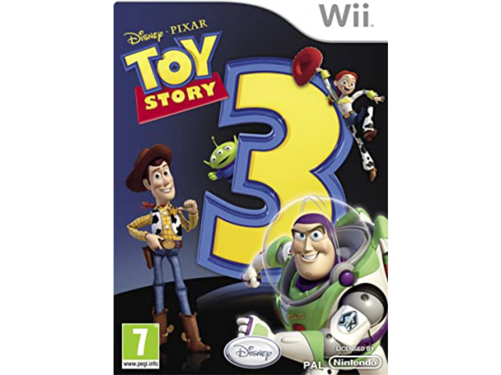 Wii Toy Story 3 The Video Game