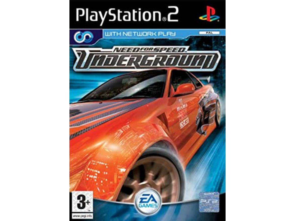 PS2 Need for Speed Underground
