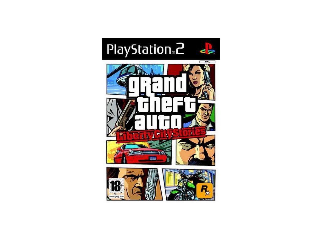 PS2 Grand Theft Auto: Liberty City Stories