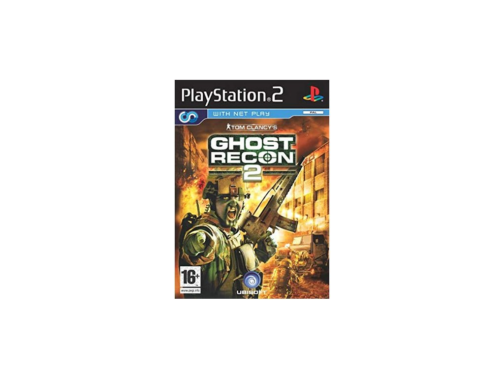 PS2 Tom Clancy's Ghost Recon 2