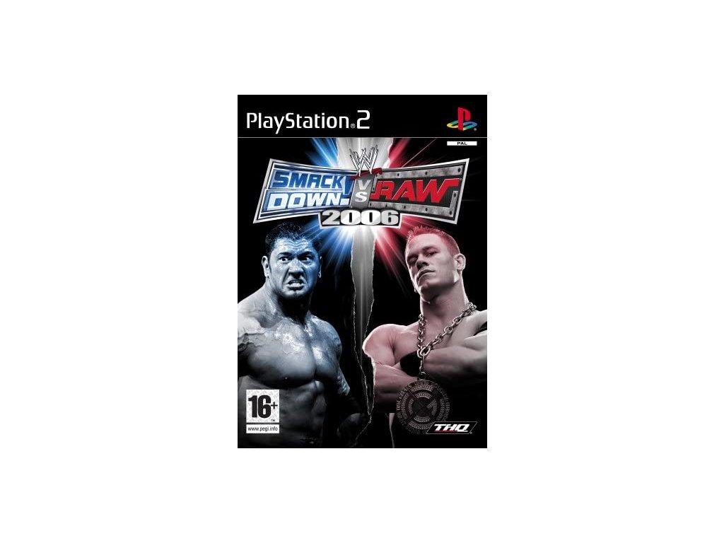 PS2 WWE SmackDown! vs. Raw 2006