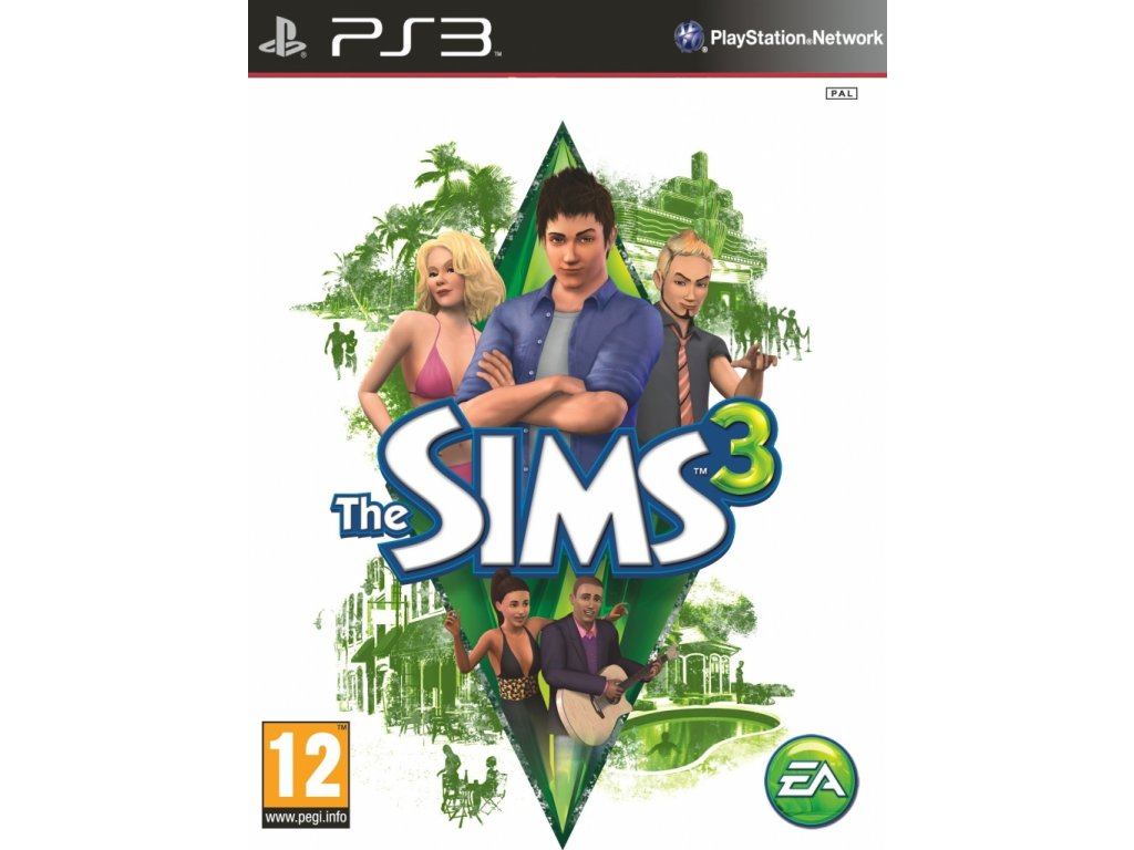 PS3 The Sims 3