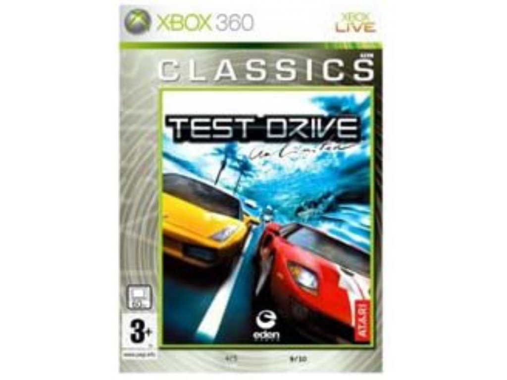 XBOX 360 Test Drive Unlimited classics