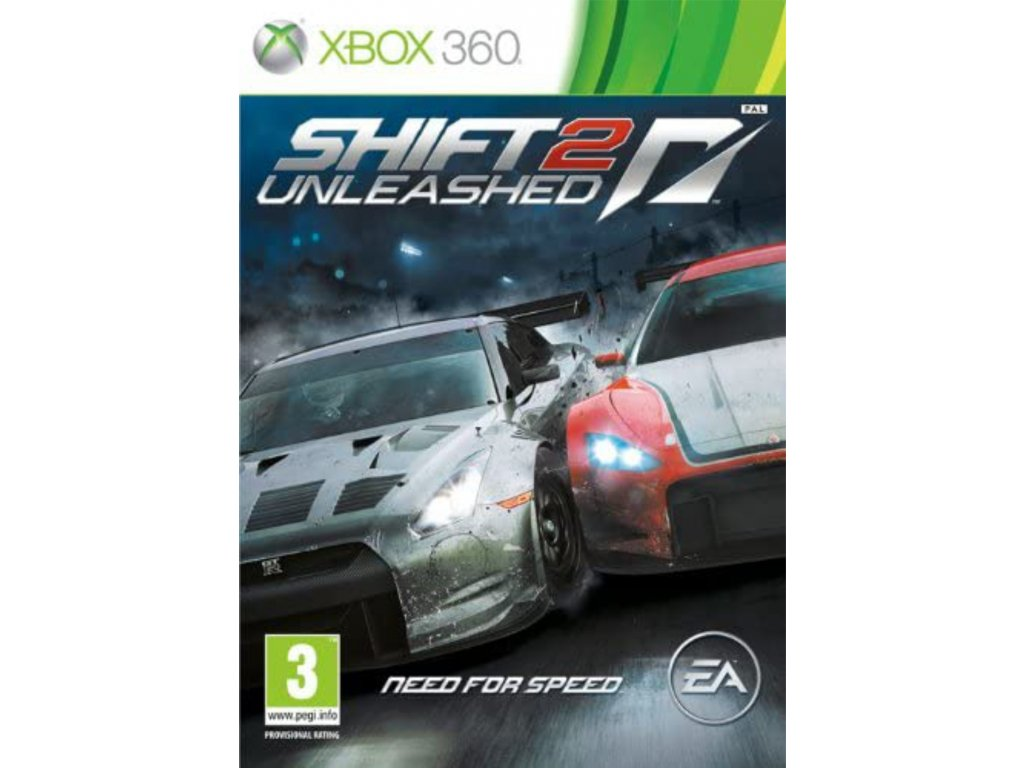 XBOX 360 Shift 2 Unleashed Need for Speed