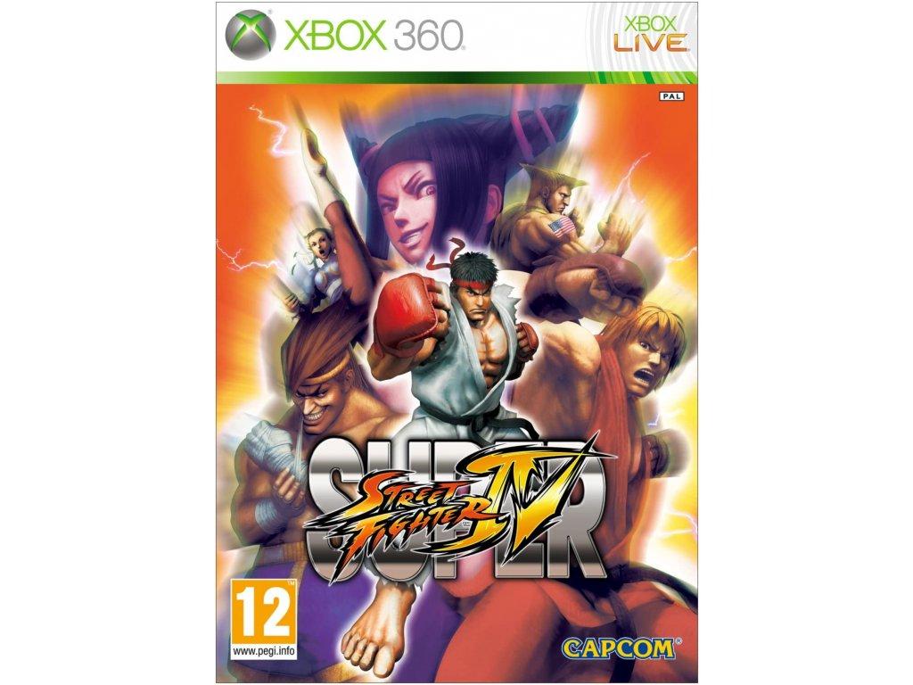 XBOX 360 Super Street Fighter IV