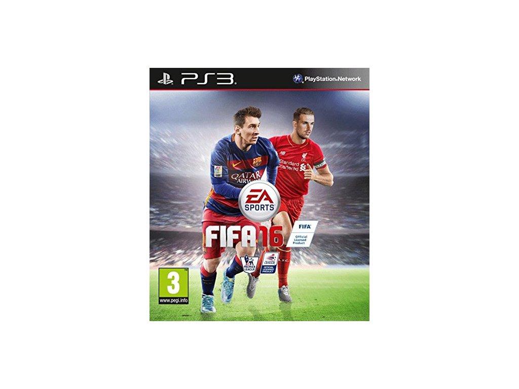 PS3 Fifa 16 CZ