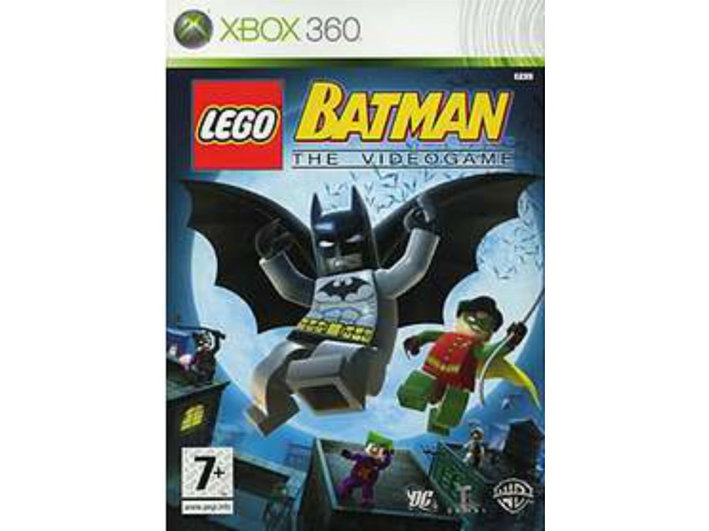 XBOX 360 LEGO Batman The Videogame