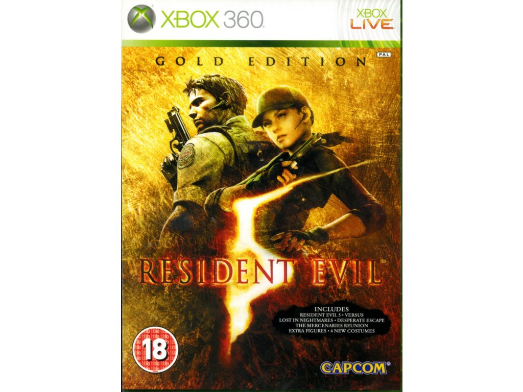 XBOX 360 Resident Evil 5 Gold Edition