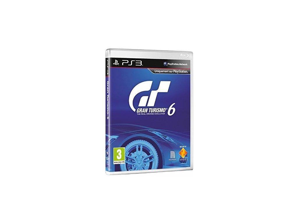 PS3 Gran Turismo 6 CZ