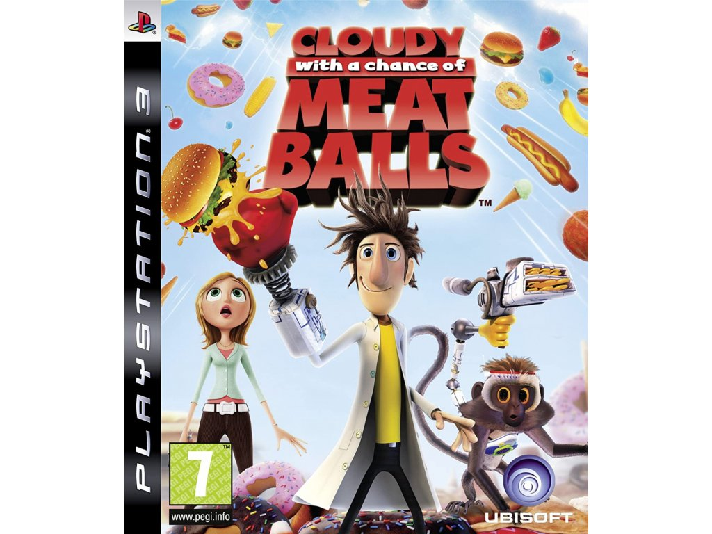 PS3 Cloudy With A Chance Of Meatballs