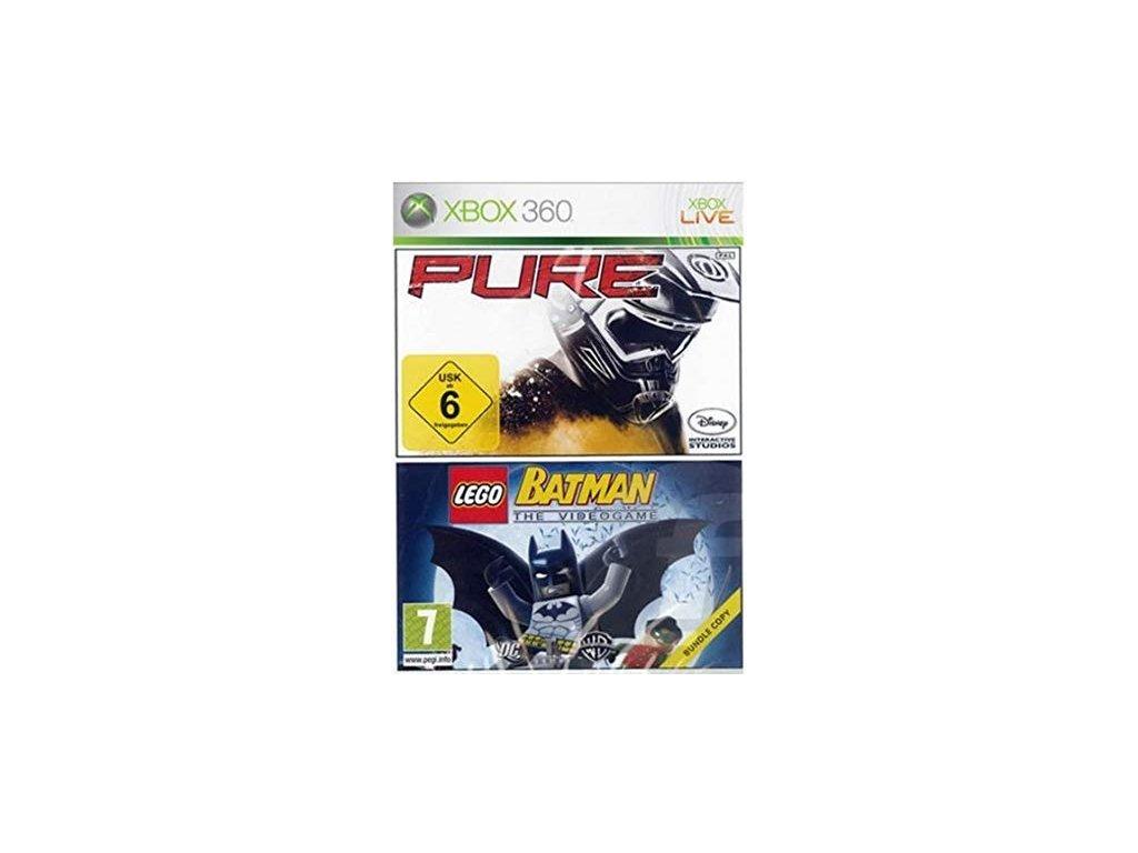 XBOX 360 Double Pack Pure + Lego Batman