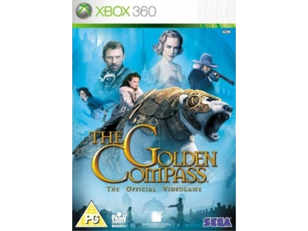 XBOX 360 golden compass