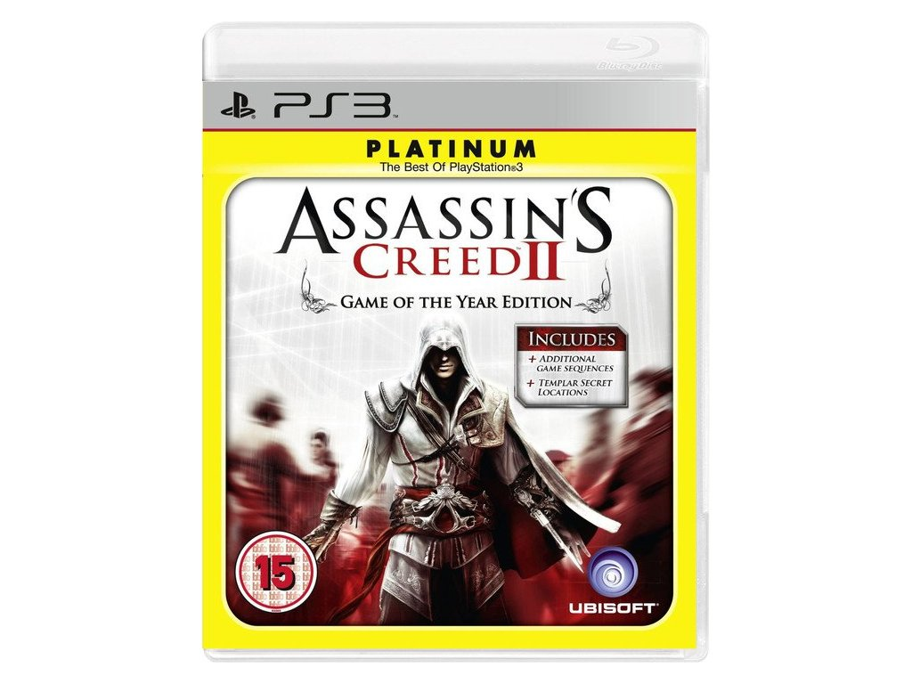 PS3 Assassins Creed II: Game of The Year Edition PLATINUM
