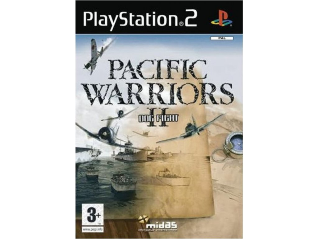 PS2 Pacific Warriors II Dogfight