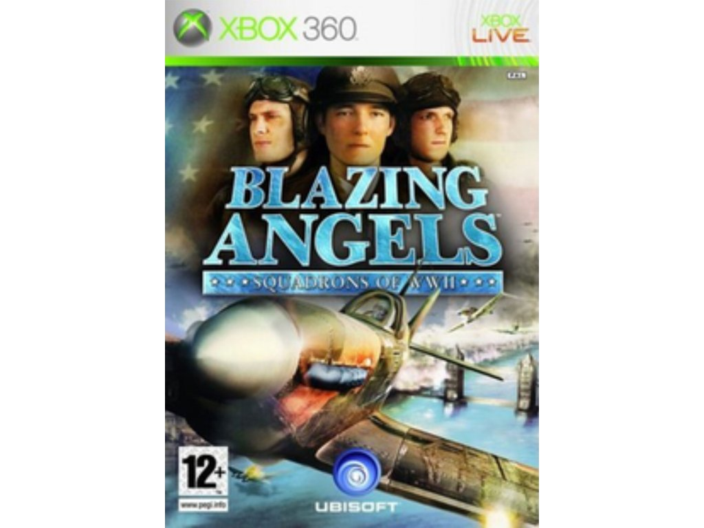 XBOX 360 Blazing Angels Squadrons of WWII