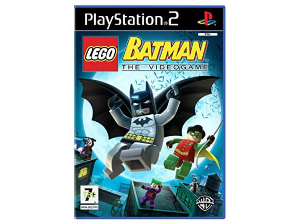 PS2 LEGO Batman The Videogame