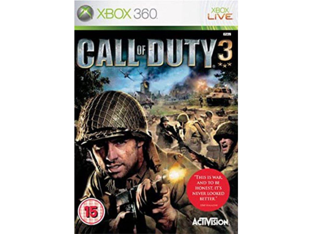 XBOX 360 Call of Duty 3