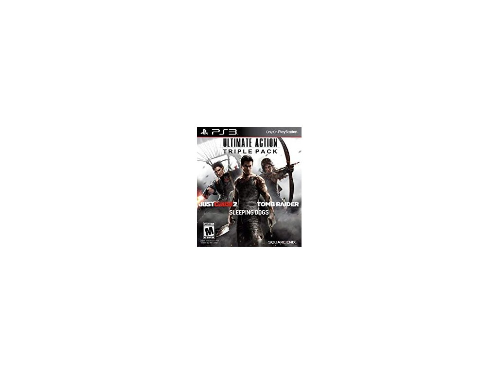 PS3 Ultimate Action Triple Pack (3x hra)