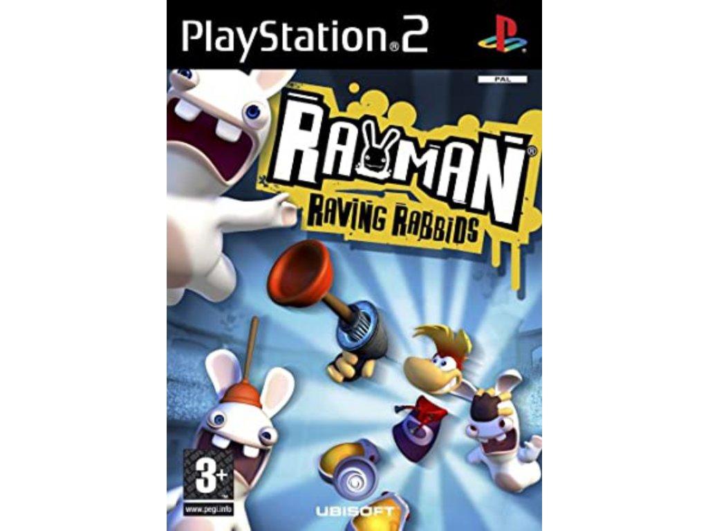 PS2 Rayman Raving Rabbids