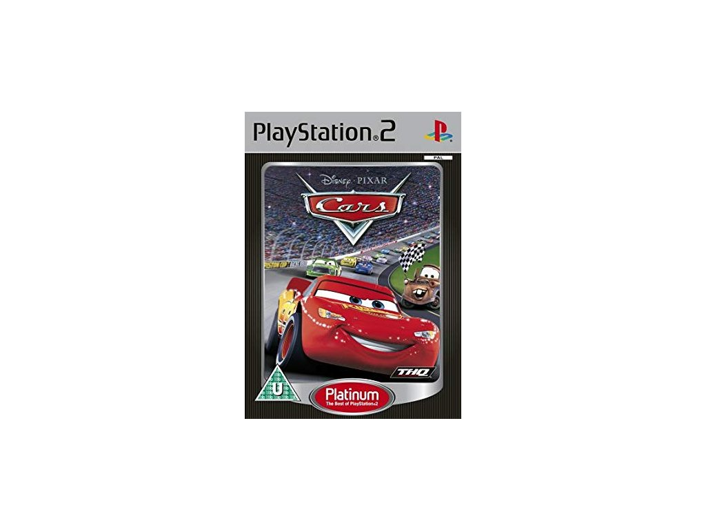 PS2 Cars PLATINUM