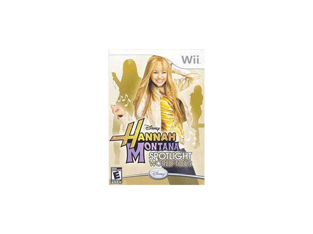 Wii Hannah Montana: Spotlight World Tour