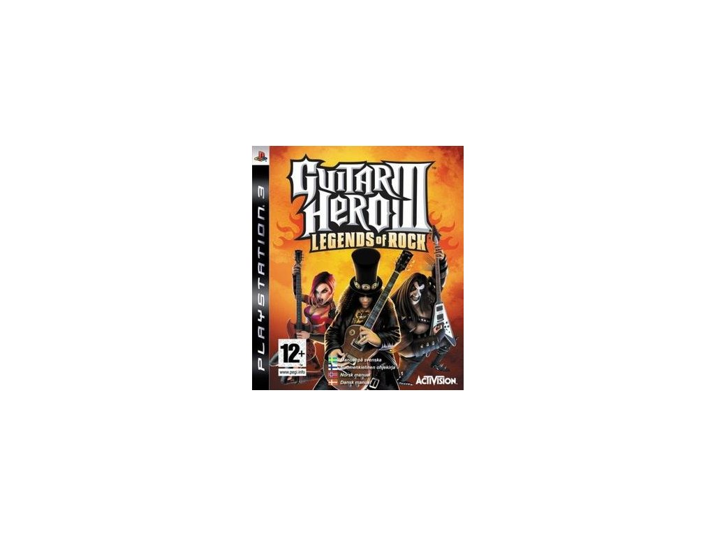 PS3 Guitar Hero III: Legends of Rock