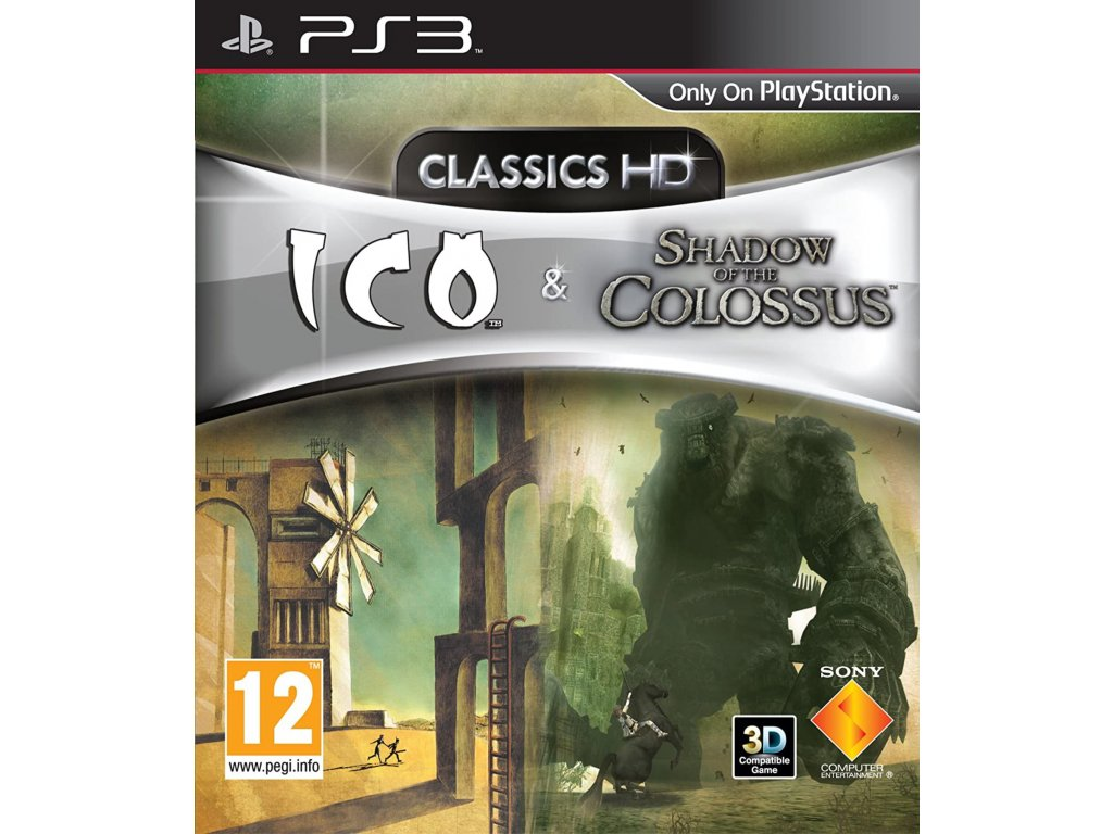 PS3 Ico & Shadow of the Colossus Collection