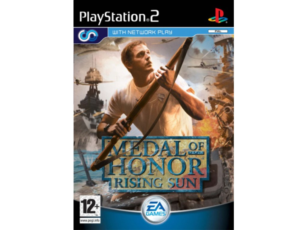 PS2 Medal of Honor Rising Sun