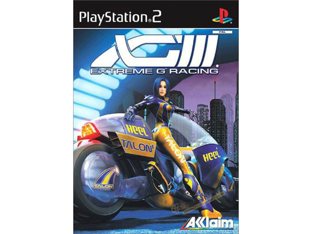 PS2 XG3 Extreme G Racing