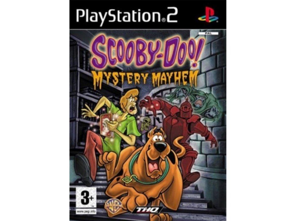 PS2 Scooby Doo Mystery Mayhem